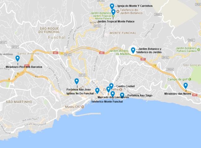 Funchal Top 10