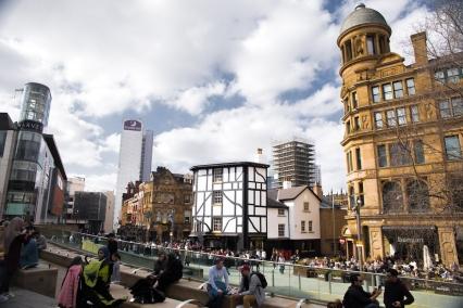 Exchange Square, Manchester   Descubriendo el mundo con Anna1
