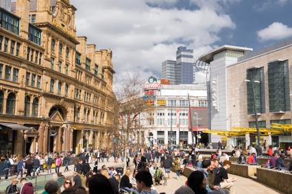 Exchange Square, Manchester   Descubriendo el mundo con Anna2