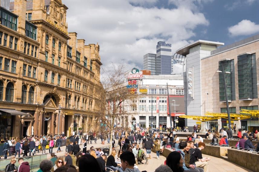 Exchange Square, Manchester | Descubriendo el mundo con Anna2
