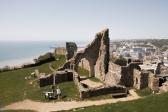 Hastings Castle, Hastings | Descubriendo el mundo con Anna3