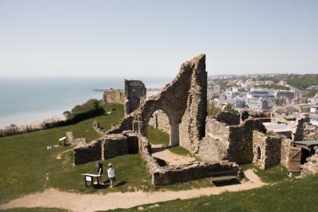 Hastings Castle, Hastings | Descubriendo el mundo con Anna3.jpg